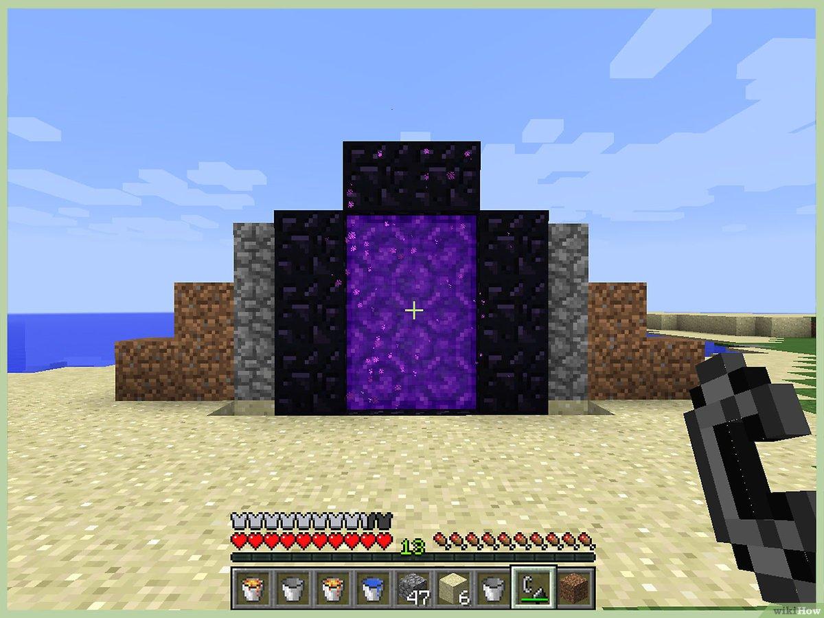 Cách làm Obsidia trong Minecraft