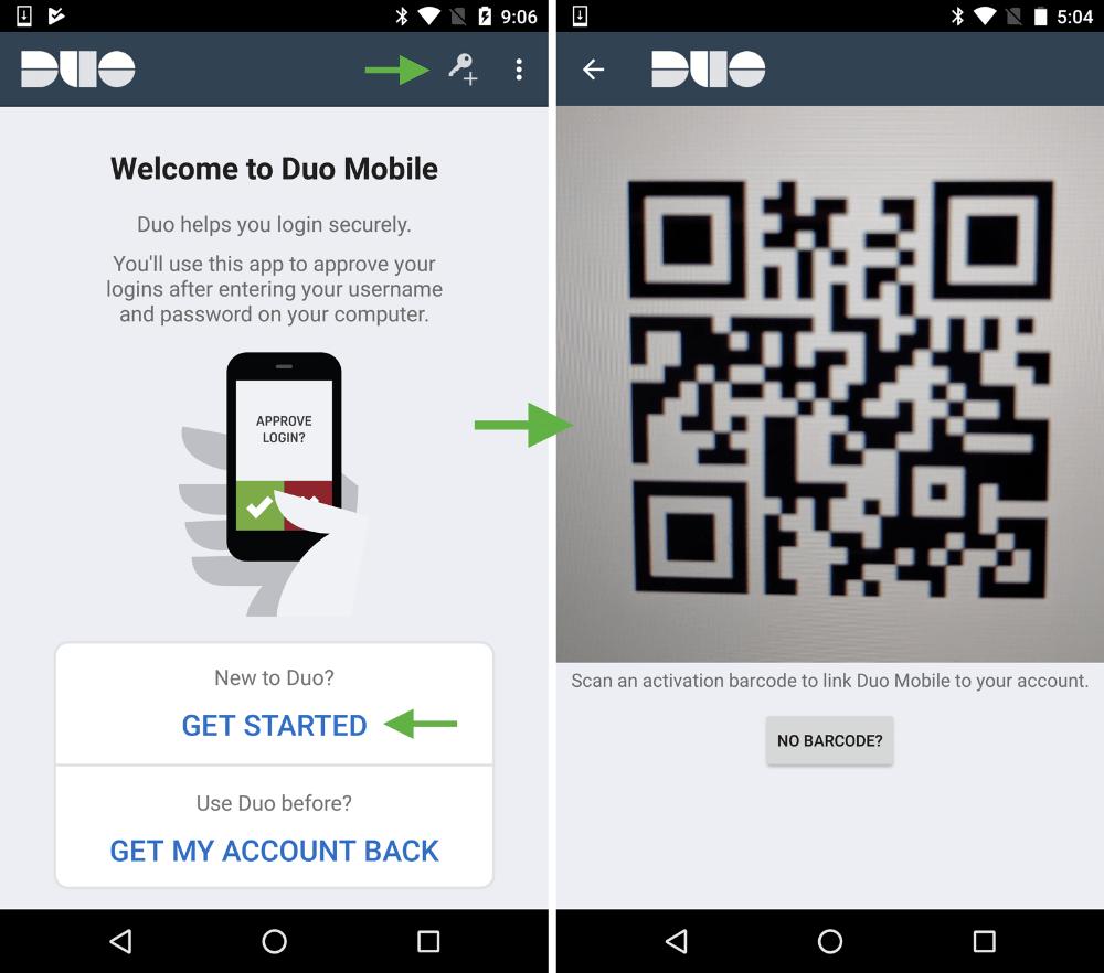 cách dùng duo mobile