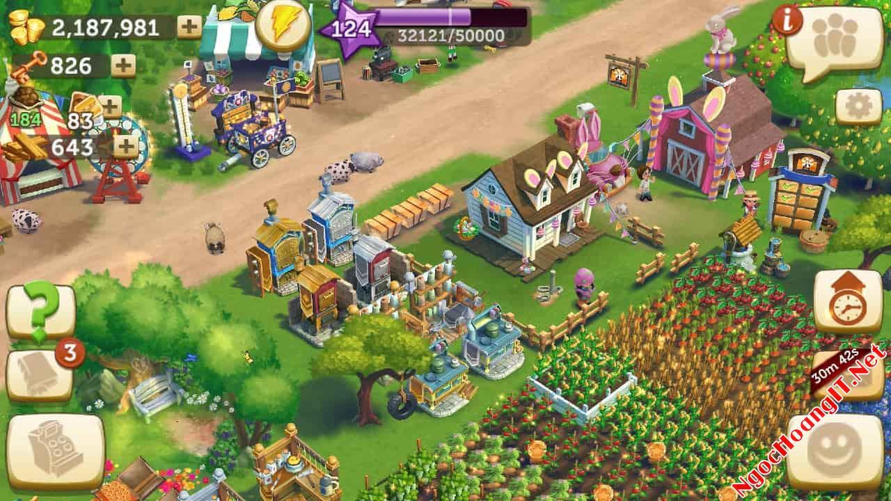 chơi farmville 2 không cần facebook